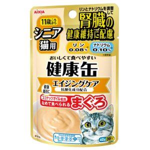 健康缶パウチ シニア猫用 エイジングケア 40g