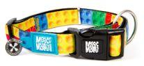 Max&Molly 犬用首輪 M カラフルブロック