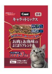 キャラットミックス お肉とお魚味のよくばりブレンド 3kg