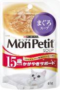 モンプチスープ(ピュアスープ) 15歳以上用 かがやきサポート まぐろスープ 40g