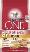 ピュリナワンドッグ ほぐし粒入り 1〜6歳成犬用チキン 2.1kg
