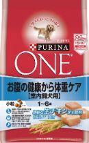 ピュリナワンドッグ 1〜6歳室内飼犬用 お腹の健康から体重ケア 小粒 チキン 2.1kg