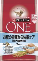 ピュリナワンドッグ 7歳以上室内飼犬用 お腹の健康から体重ケア 小粒 チキン 2.1kg
