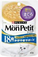 モンプチスープ(ピュアスープ) 18歳以上用 かがやきサポート まぐろスープ 40g