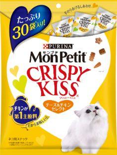 モンプチ クリスピーキッス チーズ&チキンセレクト 90g (3g×30袋)