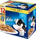 フィリックス やわらかグリル 成猫用 ゼリー仕立て チキン 12袋入り