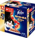 フィリックス 我慢できない隠し味ゼリー ビーフ&トマト味 70g×12袋