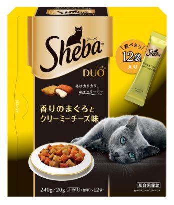 シーバ デュオ 成猫用 香りのまぐろとクリーミーチーズ味 240g