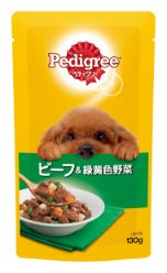 ペディグリー 成犬用 ビーフ&緑黄色野菜 130g