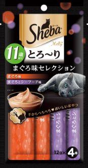 シーバ とろ〜り メルティ 11歳以上 まぐろ味セレクション 48g(12g×4P)