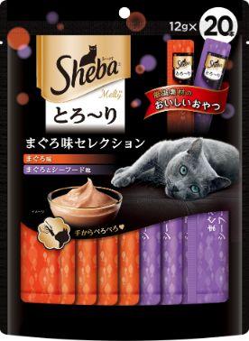 シーバ とろ〜り メルティ まぐろ味セレクション 12g×20個