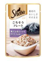 シーバ リッチ ごちそうフレーク 贅沢お魚ミックス 蟹かま・白身魚入り 35g