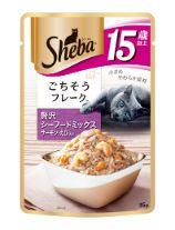 シーバ リッチ 15歳以上 ごちそうフレーク 贅沢シーフードミックス サーモン・えび入り 35g