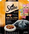 シーバ デュオ 厳選お魚とお肉味グルメセレクション 240g