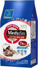 メディファス 7歳から フィッシュ味 1.5kg(250g×6)