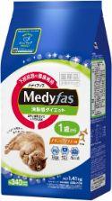 メディファス 満腹感ダイエット 1歳から チキン&フィッシュ味 1.41kg(235g×6)