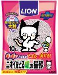 LION ニオイをとる紙の猫砂 10L