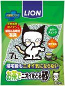 LION お茶でニオイをとる砂 7L