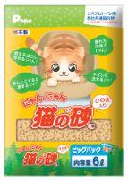 にゃんにゃん猫の砂 ひのき入ビッグパック6L