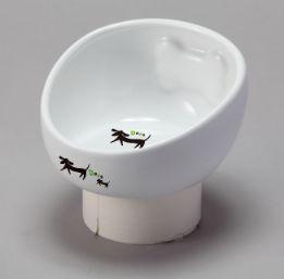 DP-653こぼれにくい陶製食器犬用S