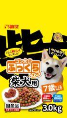 ゴン太のふっくらソフト 柴犬用 7歳以上用3.0kg