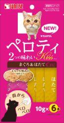 ニャン太のペロティキッス かつおとほたて 2つの味わい10g×6本