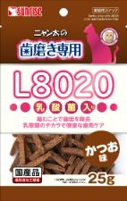 ニャン太の歯磨き専用 L8020乳酸菌入り かつお味 25g
