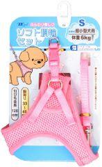 プッチワン メッシュ胴輪セット台紙付 S ピンク