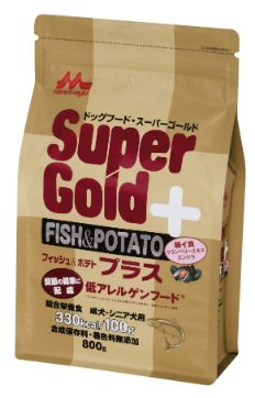 Supergold フィッシュ&ポテト プラス 関節ケア 800g