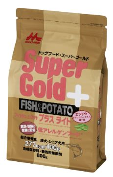 Supergold フィッシュ&ポテト プラスライト 肥満・関節の健康に配慮 800g