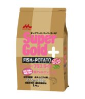 Supergold フィッシュ&ポテト プラスライト 肥満・関節の健康に配慮 2.4kg