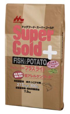 Supergold フィッシュ&ポテト プラスライト 肥満・関節の健康に配慮 7.5kg