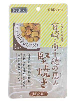 ペットプロ 宮崎・高千穂の恵み 堅焼き国産ひじき入り 40g
