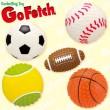 プラッツ Go Fetch スポーツボール