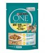 ピュリナ ワン 猫用 避妊去勢した猫の体重ケア チキン グレービー仕立て 70g